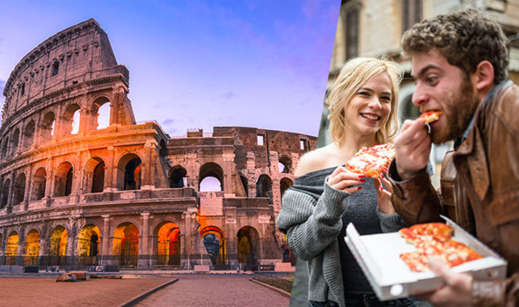 Italy Rome Tourists Fined Hundreds Of Euros If They Eat In A