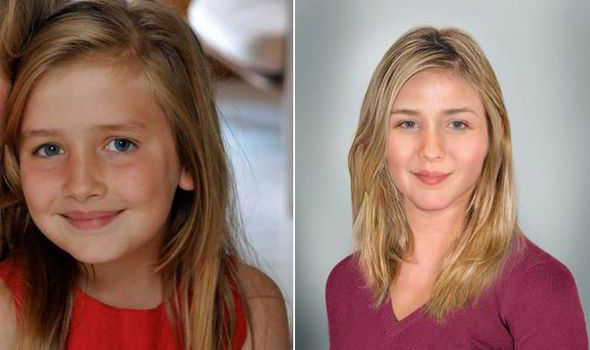 New Technology Allows Forensic Artists To Predict How Kids Could Look Like In The Future Express Co Uk