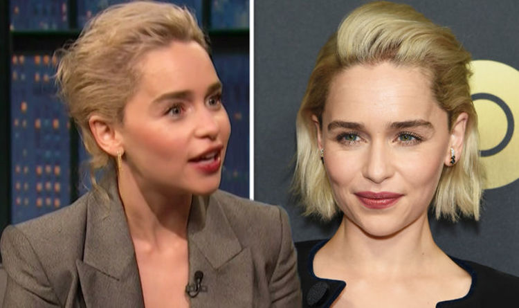Emilia Clarke  Game Of Thrones star reveals nightmare confession  It s the  weirdest thing  437ad895ec66