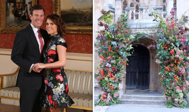 Royal Wedding First Glimpse Of Beautiful Flowers Gives Hint Of