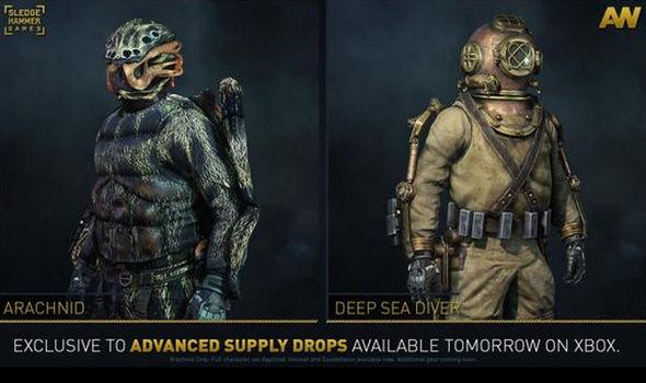 call of duty advanced warfare loadouts