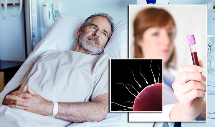Blood in semen and other warning signs your sperm is not healthy