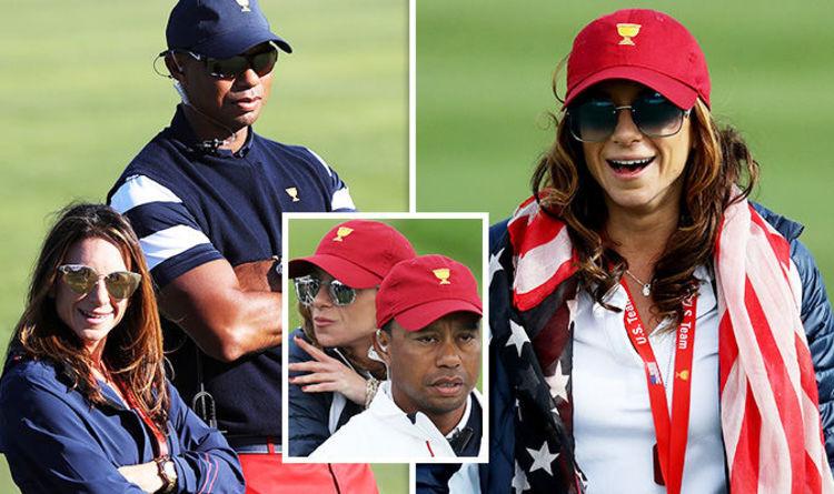 Tiger Woods Girlfriend Who Is The Open Golfers Girlfriend Erica Herman Celebrity News Showbiz Tv Express Co Uk