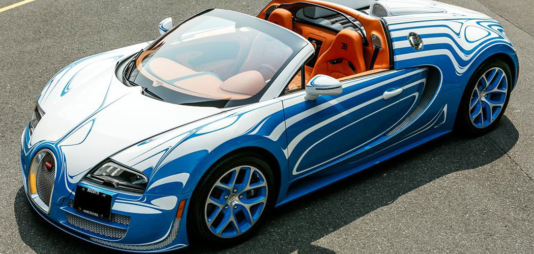 2014 Bugatti Veyron Grand Sport Vitesse L Or Style For Sale