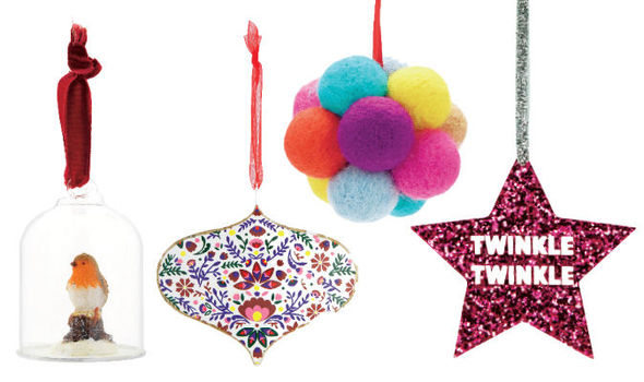 Christmas, festive, holiday, style, trend, design, ornament, baubles, - The Best Christmas Baubles December 2015 Express.co.uk