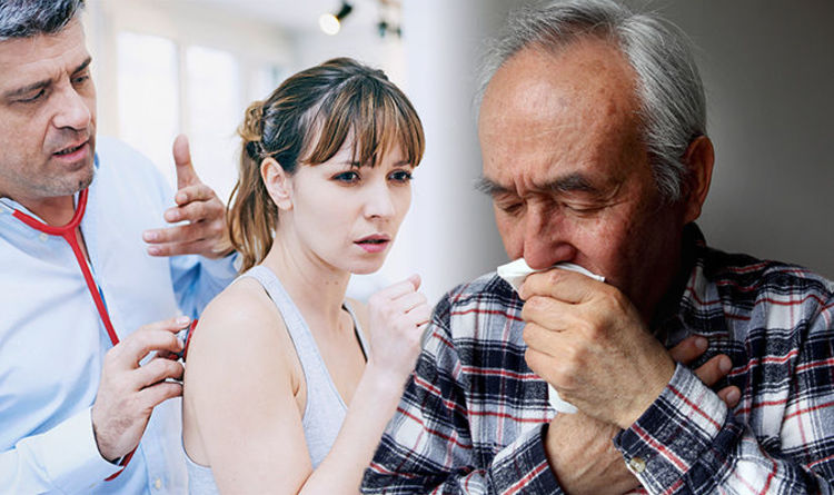Chest infection symptoms: Signs your chesty cough could actually be