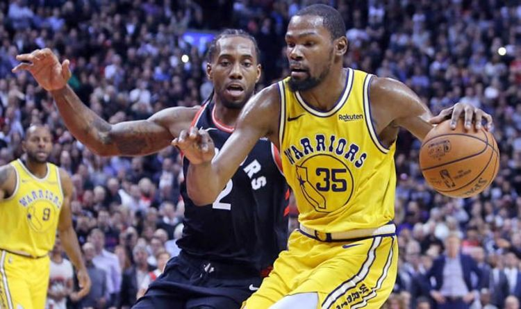 060e6c14c NBA trade news  Kawhi Leonard and Kevin Durant SHOCK move to BLOCK Anthony  Davis to Lakers