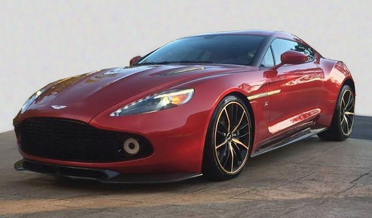 Aston Martin Vanquish Zagato For Sale In Monterey