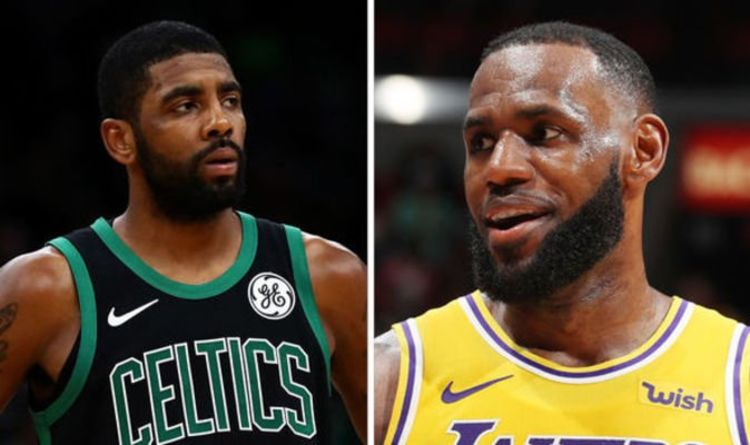 3ed88432ef76 LeBron James  Kyrie Irving to Lakers admission made by NBA insider after  Celtics comments
