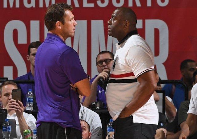 33dfef83149 Lakers News  Magic Johnson Wanted To Fire Luke Walton