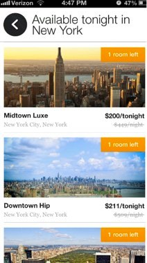 Jetsetter Takes On Hotel Tonight With Last Minute Hotel Booking And Deals In Mobile App Techcrunch