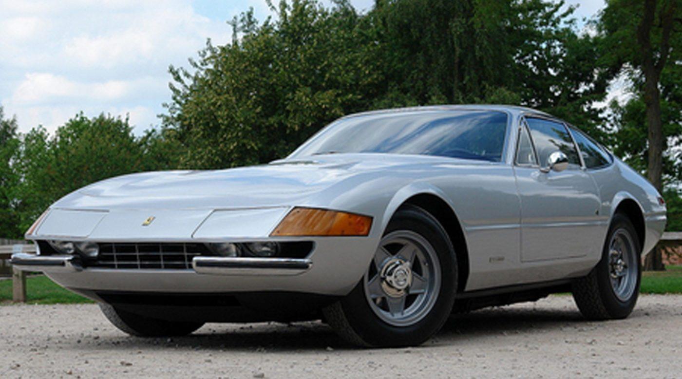 1973 Ferrari 365 Gtb 4 Daytona In Silver For Sale