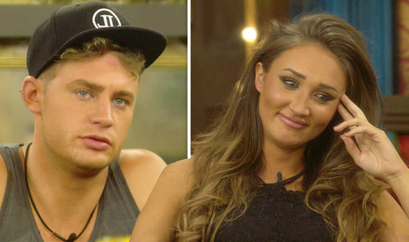 celebrity big brother scotty t and megan fight because she slept