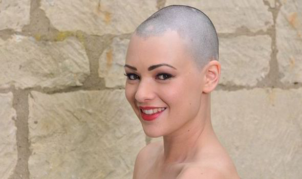 Nude bald women