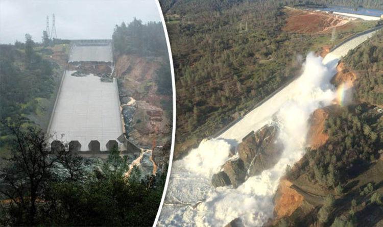 Oroville dam spillway live stream