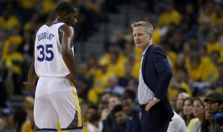 cbc98f12 Kevin Durant: Warriors head coach delivers DEVASTATING injury update for  NBA Finals