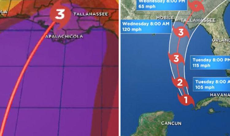 Florida Tornado Map.Hurricane Michael Tornado Warning Florida To Be Aware Of Tornadoes