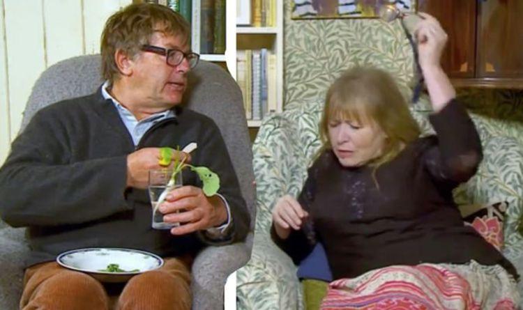 Gogglebox: Mary Killen snaps at Giles Wood | TV & Radio | Showbiz