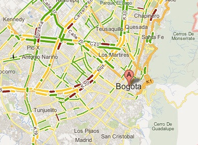 Google Maps Now Features Real-Time Traffic Info For 130 ... on sao paulo brazil map, caracas map, havana map, lima on map, san pedro sula map, boston map, mexico city map, dhaka map, buenos aires map, colombia map, cartagena map, quito map, chicago map, bratislava map, paramaribo map, leticia map, santiago map, asuncion map, rio de janeiro map, brasillia map,