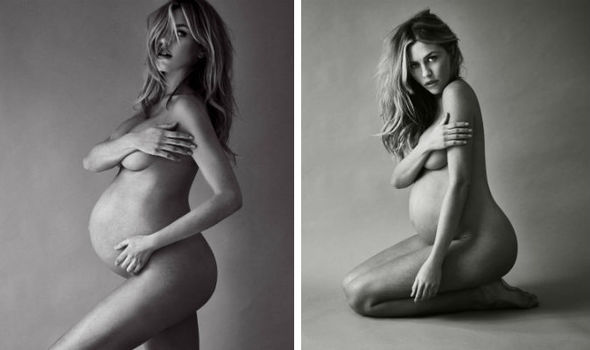 Abbey Clancy Strips Naked For Photoshoot