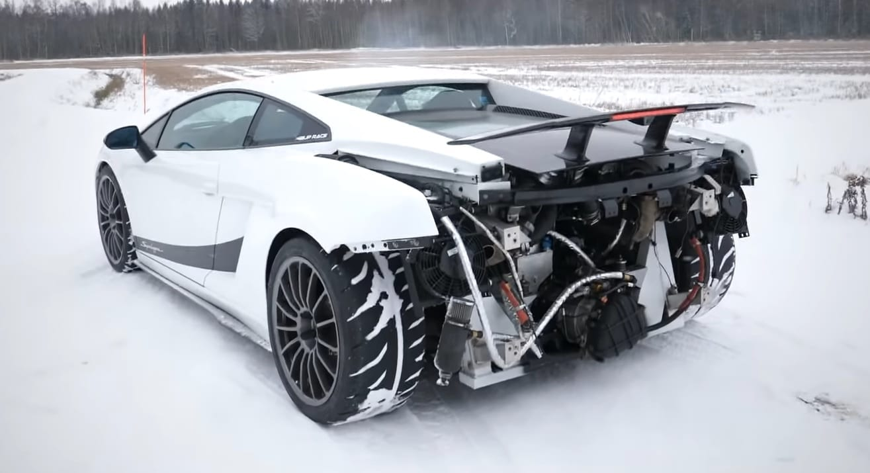 Lamborghini Gallardo Superleggera Manual Transmission Swap