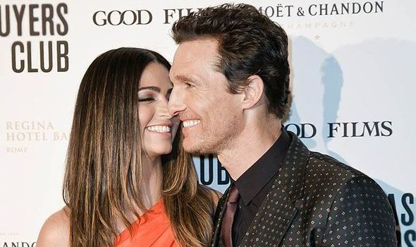 Matthew Mcconaughey And His Wife Camila Alves Looked Loved Up As They Hit The Red Carpet