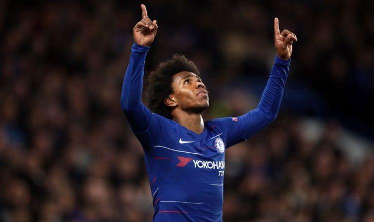 Chelsea player ratings vs Dynamo Kiev: Willian, Giroud shine - but who was  the weak link? | Football | Sport | Express.co.uk