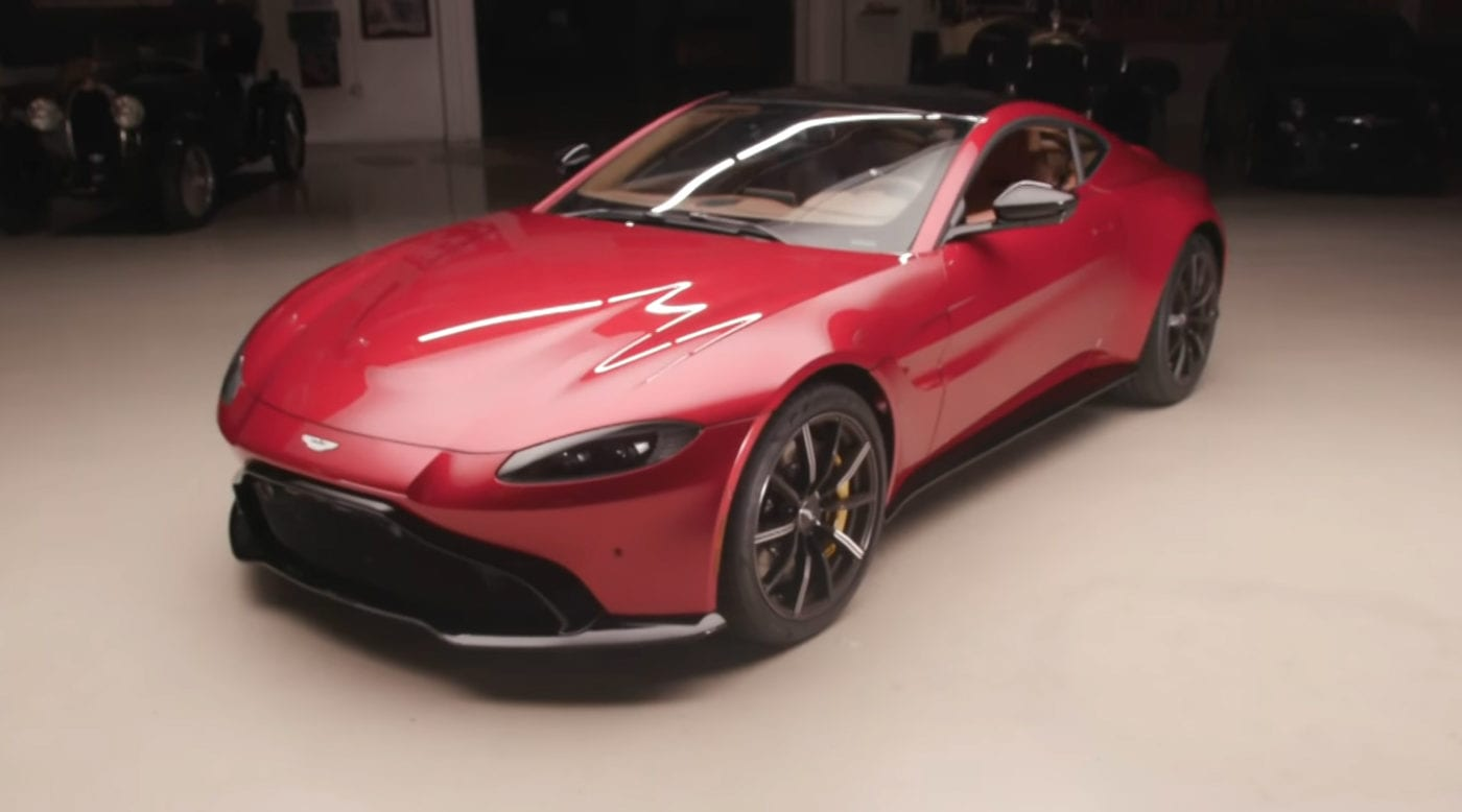 Jay Leno Drives 2019 Aston Martin Vantage