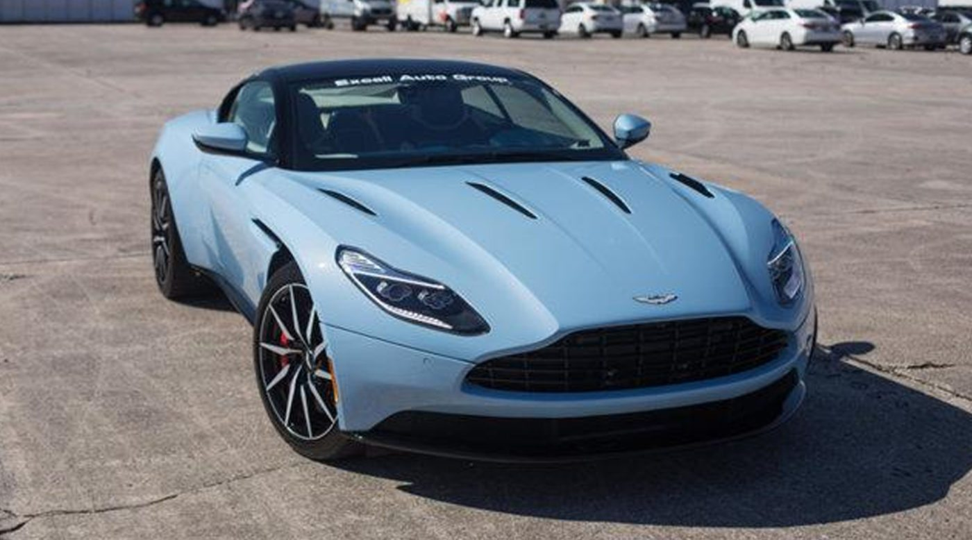 2017 Aston Martin Db11 For Sale In Frosted Glass Blue
