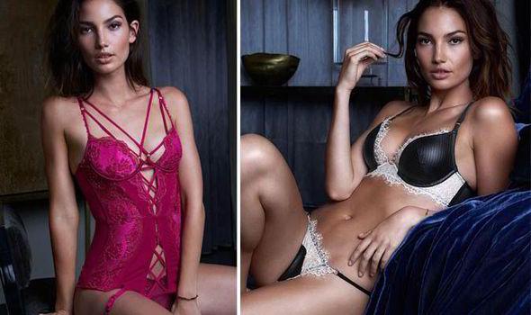 7075ad3682a Victoria s Secret Angel Lily Aldridge stuns in new underwear photos ...