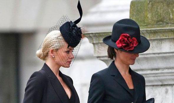 Katherine Jenkins arrives for the funeral of Baroness Margaret Thatcher  (Reuters) 39d7d78d28a