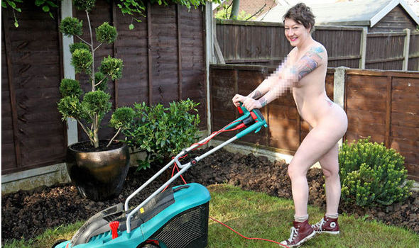Gardening in the nude pic 821