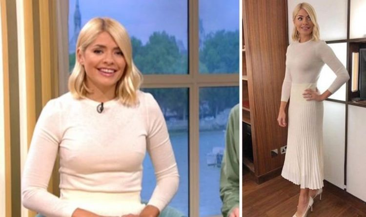 a7172b3d27 Holly Willoughby looks wonderful in white on ITV's This Morning - where to  buy her outfit