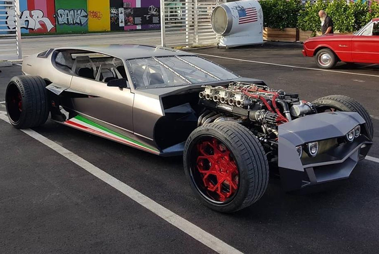 How The Lamborghini Espada Rat Rod Chd Edition Was Created