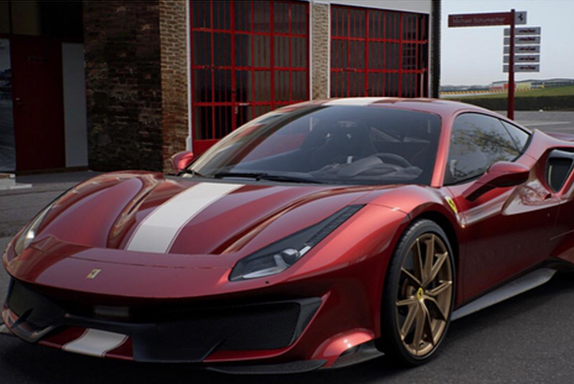 Justin Verlander S New Ferrari 488 Pista
