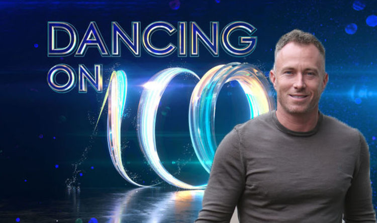 sports shoes 936a2 566ac Dancing on Ice 2019 cast  Ex-Strictly dancer James Jordan CONFIRMED for ITV  line-up
