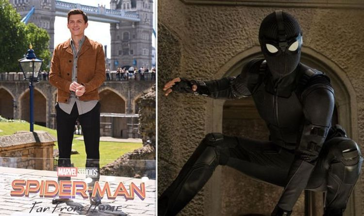 Spider Man Far From Home Tom Holland Loves His New Suits For This Hilarious Reason Films Entertainment Express Co Uk