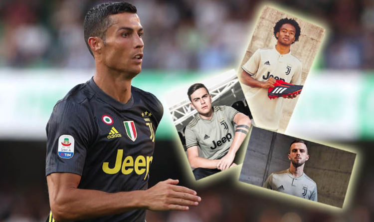 Cristiano Ronaldo  Why Juventus star was NOT central to Adidas away kit  launch - REVEALED 2cdd05e86