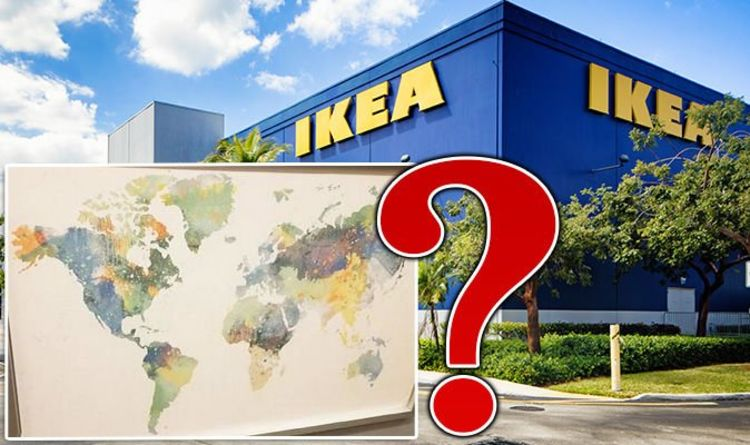 Ikea World Map Blasted As It Omits New Zealand Just Before Store