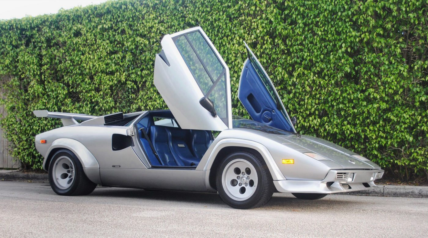 Could This Be A Million Dollar Lamborghini Countach