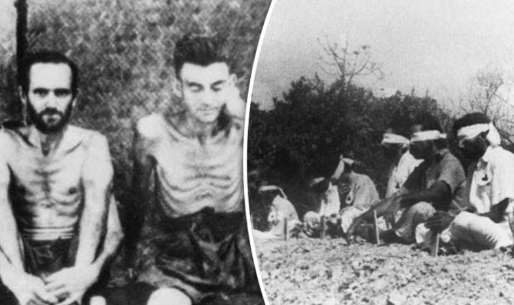 World War 2 horror: How British POWs were used as target practice by  Japanese soldiers
