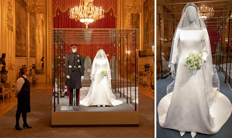 Meghan Markle Wedding Dress Royal Exhibition Where Can You See S News Express Co Uk