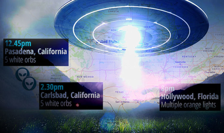 Image result for NEW MASS SIGHTING: Large group of UFOs seen in three USA locations on same day