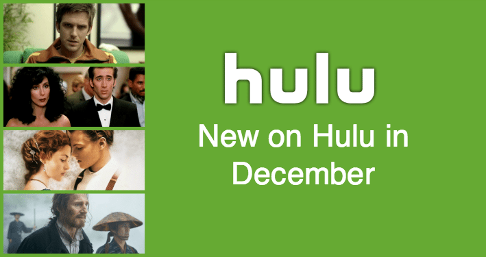 New This Month on Hulu: December 2017 - What's on Hulu