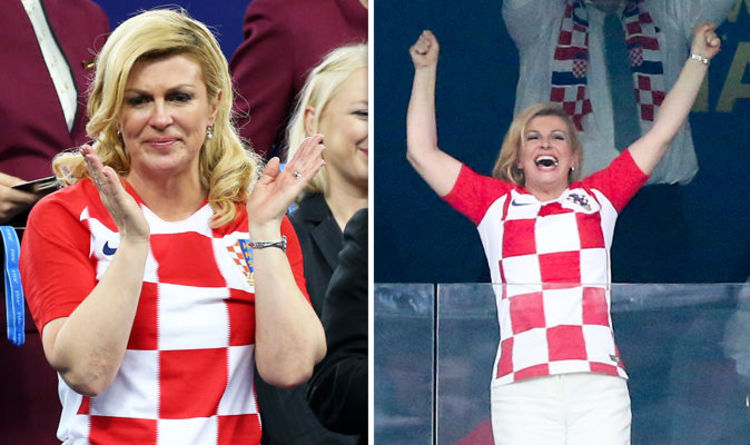 798bb04e64c How Croatia s president won hearts across the globe in World Cup final  defeat to France