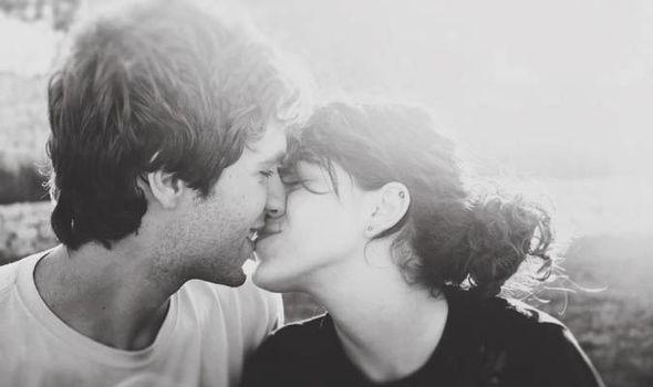 Black white couple swap