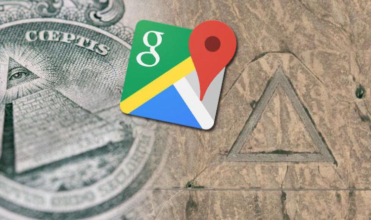 Google Earth Illuminati Triangle Symbol In Nevada Desert Revealed