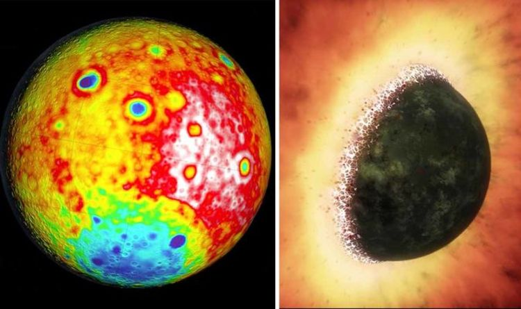 NASA space SHOCK: How probe images 'prove Moon formed from Earth