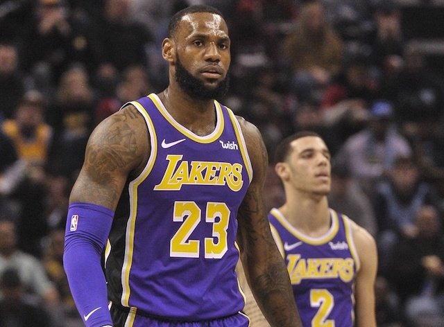 26f0a1d5fd94 Lonzo Ball Believes LeBron James Signing With Lakers Was  Right Move ...