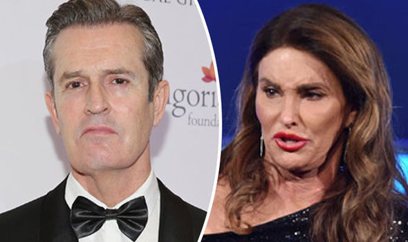 Rupert Everett And Caitlyn Jenner